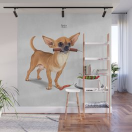 Spicy Wall Mural