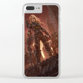 Rika Outcast Clear iPhone Case