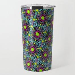 purple star Travel Mug