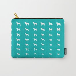 All Dogs (Aqua) Carry-All Pouch