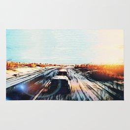 Evaporating Saguaro Sunset Rug
