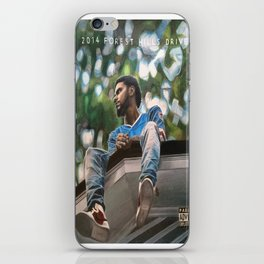J.Cole 2014 Forest Hills Drive Drawing iPhone Skin
