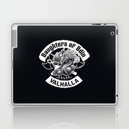 Daughters of Odin viking women - Sons of Odin parody Viking Norse Mythology for Shield Maiden Valkyr Laptop & iPad Skin