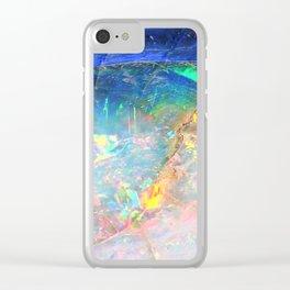 Ocean Opal Clear iPhone Case