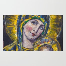 Our Lady of Perpetual Help Rug
