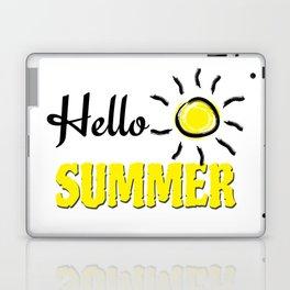 Hello summer Laptop & iPad Skin