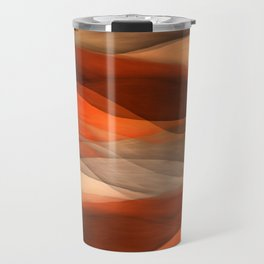 """Sea of sand and caramel waves"" Travel Mug"