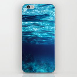 Blue Underwater iPhone Skin
