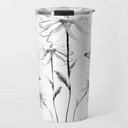 Flowers and butterflies 2 Travel Mug