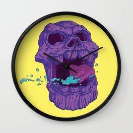 Skull of Thanos Wall Clock