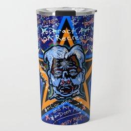 Abstract Drug Life Travel Mug