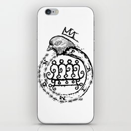 Hail King Paimon! iPhone Skin
