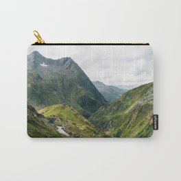 Alps of Switzerland Carry-All Pouch