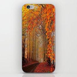 Autumn Parade iPhone Skin