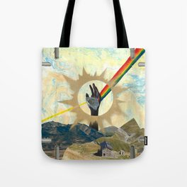 Reaching to Enlightenment Tote Bag