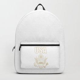 USA national emblem Backpack
