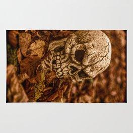 Halloween Skull 2 Rug
