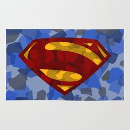 MAN OF STEEL Rug