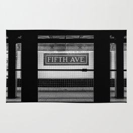 Fifth Ave Subway Rug