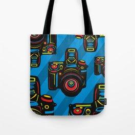 Black Camera Tote Bag