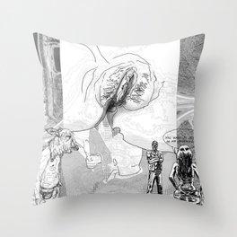 The constellation erotique 4494 Throw Pillow