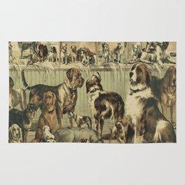 VINTAGE DOG Pop Art Rug