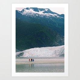 Mendenhall Glacier Art Print