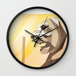 persepolis lion Wall Clock