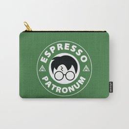 Espresso Patronum green Carry-All Pouch