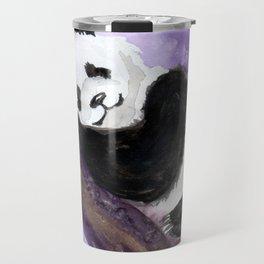 Panda bear sleeping Travel Mug
