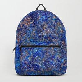 earth, shattered. Backpack