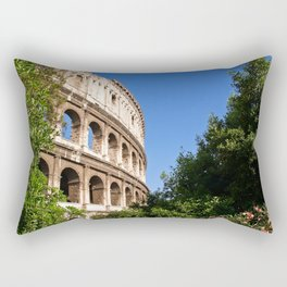 The Colosseum in Rome Rectangular Pillow