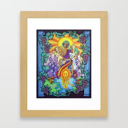 Come and Drink My Wine Framed Art Print