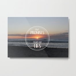 Beach please ! Metal Print