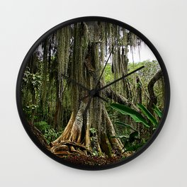 Spanish Moss Wall Clock