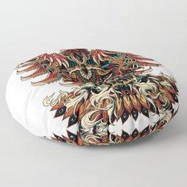 Heraldric Phoenix Floor Pillow