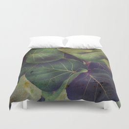 Sea Grape Duvet Cover