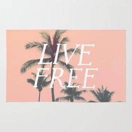 Live Free Rug