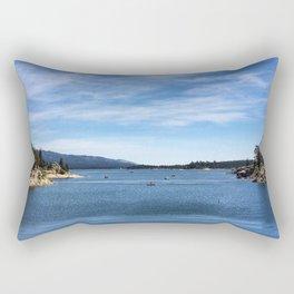 Big Bear Lake Rectangular Pillow