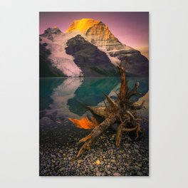 Mount Robson (Fine Art Landscape Photography) Canvas Print