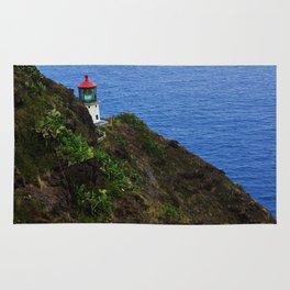 Makapuu lighthouse trail Rug