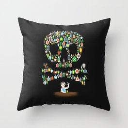 What's your poison? Throw Pillow