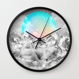 Put Your Thoughts To Sleep Wall Clock