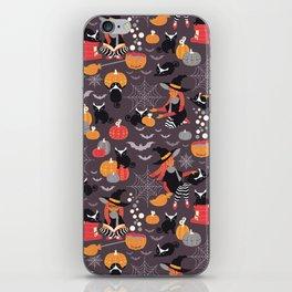 Enchanted Vintage Halloween Spell iPhone Skin
