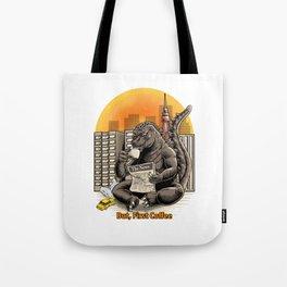 Coffeezilla Tote Bag