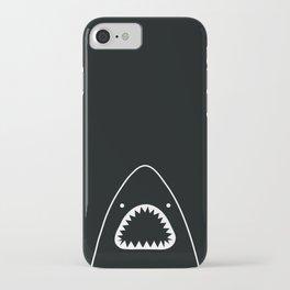 white shark iPhone Case