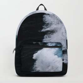 Powerful breaking wave in the Atlantic Ocean - Landscape Photography Backpack