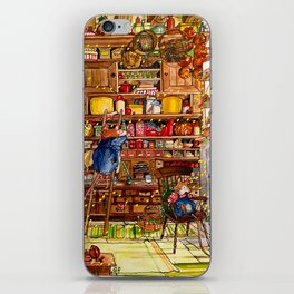 Christmas with Mice iPhone Skin
