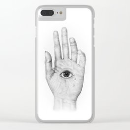 Drawing is pain Clear iPhone Case