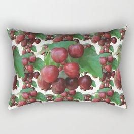 Sour Cherry, watercollor Rectangular Pillow